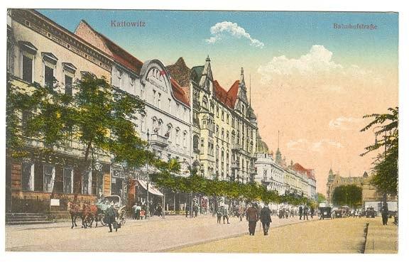 Katowice ul.Dworcowa