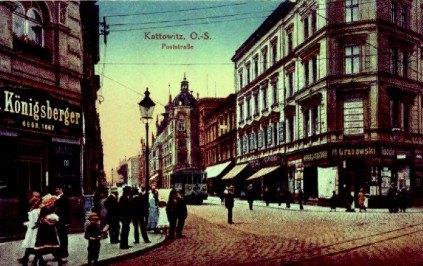 Katowice, ul.Pocztowa